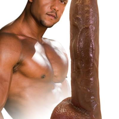Aron Ridge Superstar Fleshphallix Cock - Brown