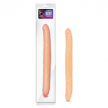 B Yours – 16″ Double Dildo – Beige